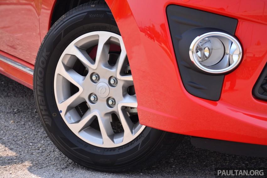 GALLERY: Perodua Axia Standard G vs Axia Advance Image #274414
