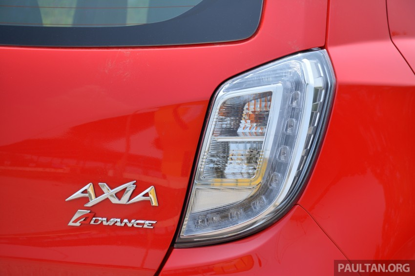GALLERY: Perodua Axia Standard G vs Axia Advance Image #274416