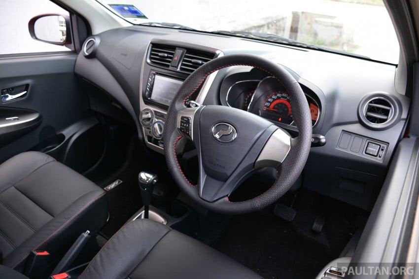 GALLERY: Perodua Axia Standard G vs Axia Advance Image #274417