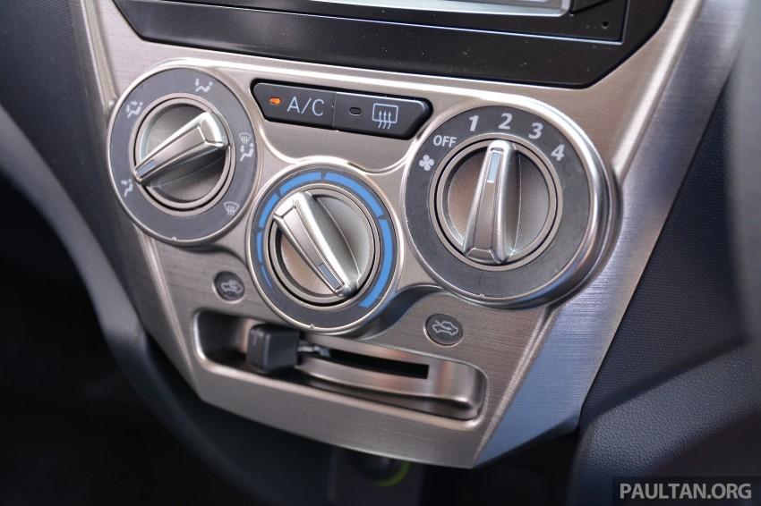 GALLERY: Perodua Axia Standard G vs Axia Advance Image #274424
