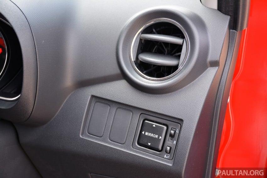 GALLERY: Perodua Axia Standard G vs Axia Advance Image #274427