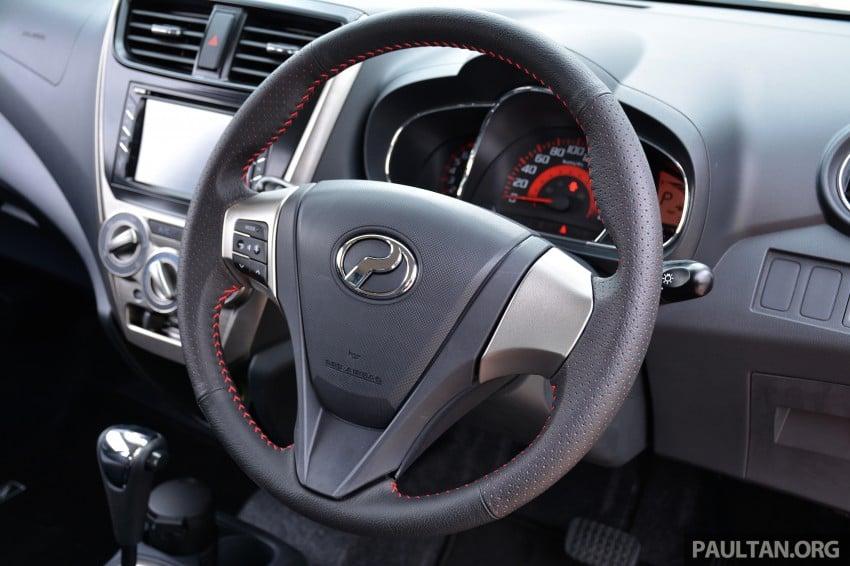 VIDEO: Perodua Axia Advance walk-around tour Image #273954