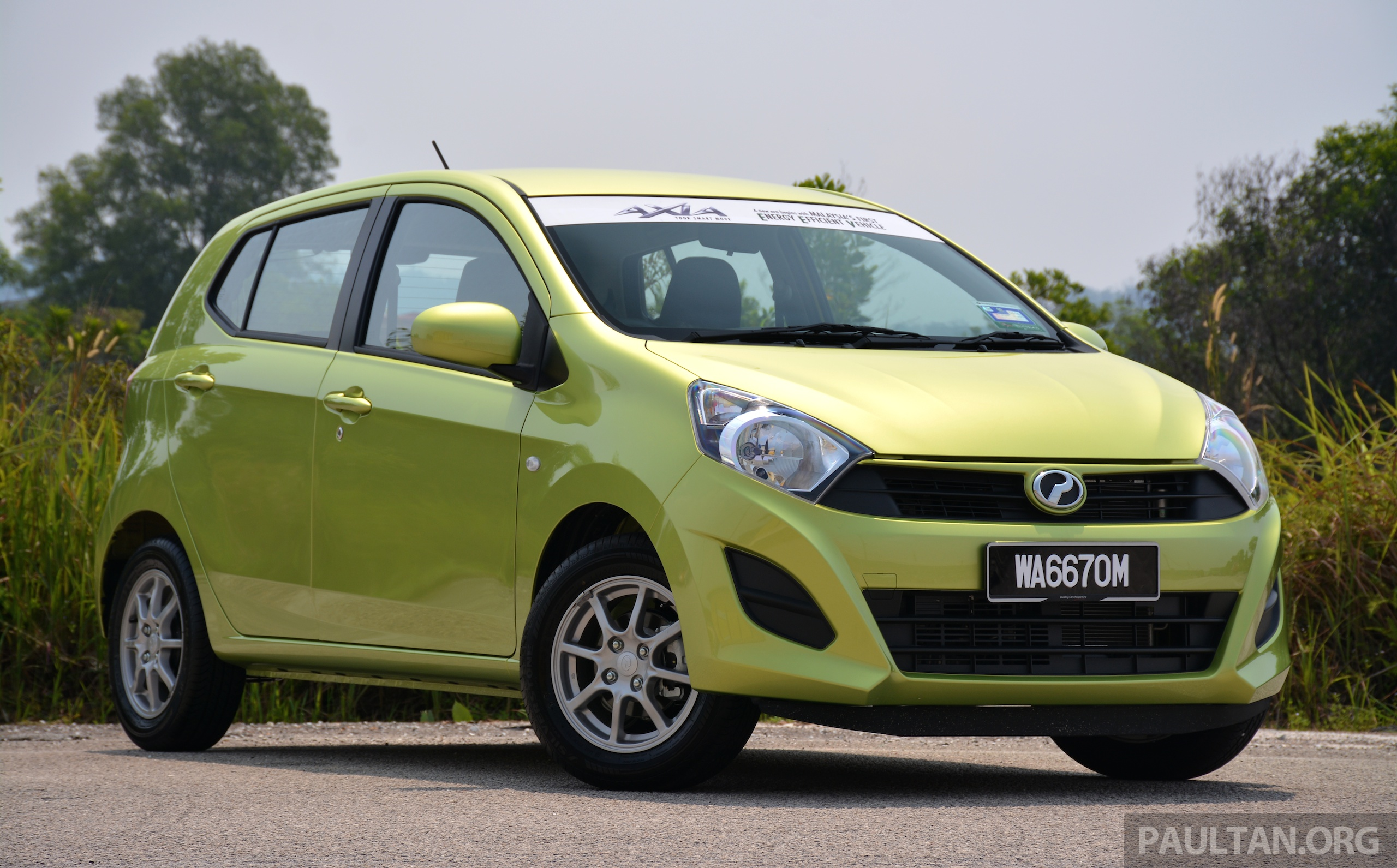 Perodua Axia exports set to begin 2nd half this year