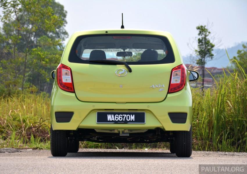 GALLERY: Perodua Axia Standard G vs Axia Advance Image #274385