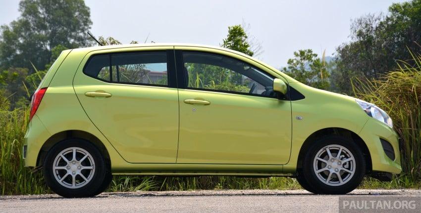 GALLERY: Perodua Axia Standard G vs Axia Advance Image #274386