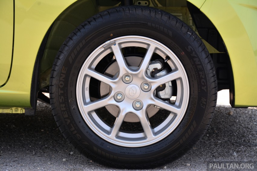 GALLERY: Perodua Axia Standard G vs Axia Advance Image #274388