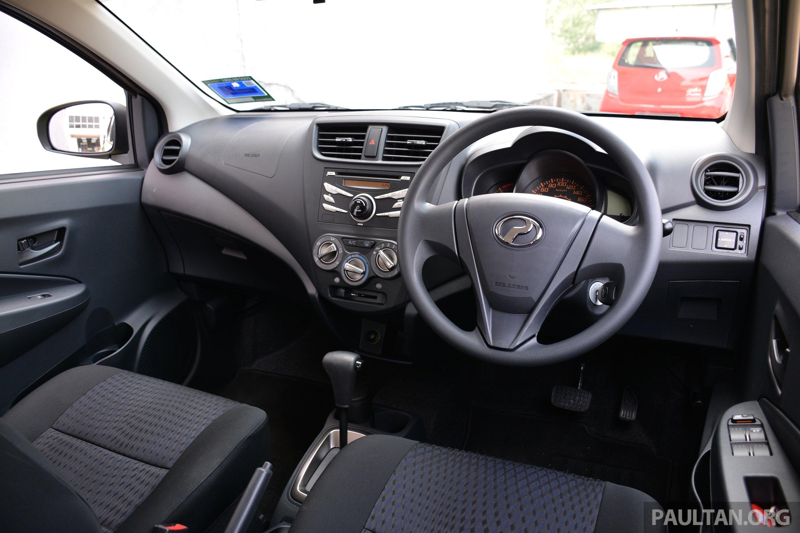 GALLERY: Perodua Axia Standard G vs Axia Advance Image 274393