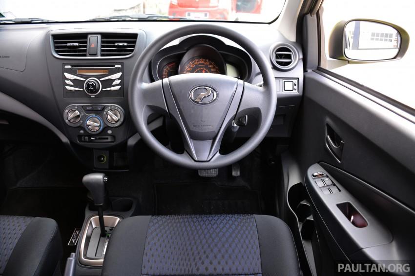 GALLERY: Perodua Axia Standard G vs Axia Advance Image #274394