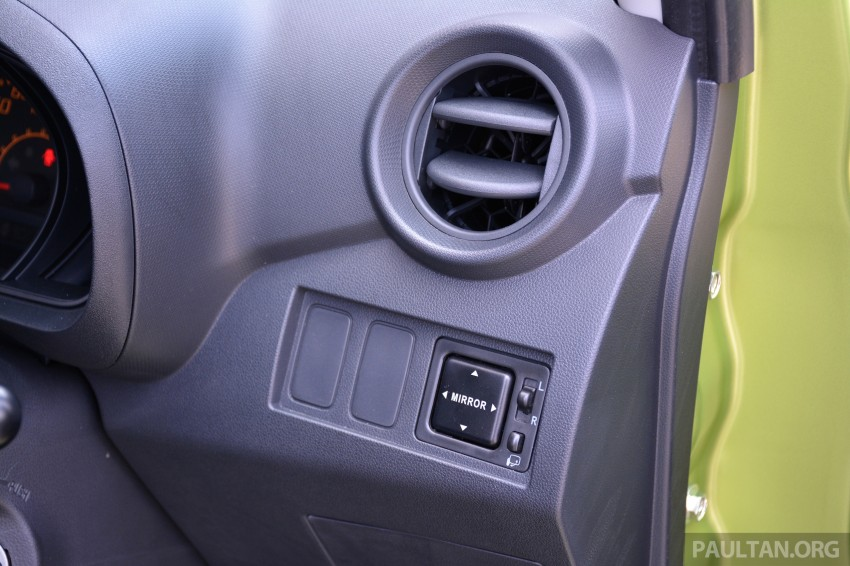 GALLERY: Perodua Axia Standard G vs Axia Advance Image #274401