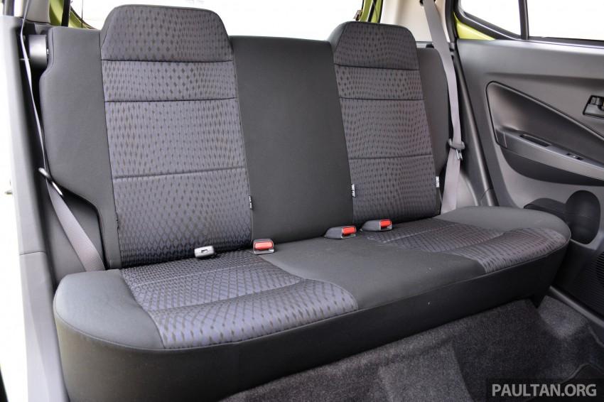 GALLERY: Perodua Axia Standard G vs Axia Advance Image #274405