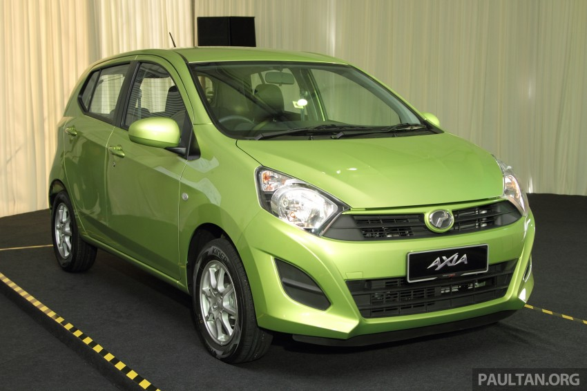 Perodua Axia launched – final prices lower than estimated, from RM24,600 to RM42,530 on-the-road Image #271773