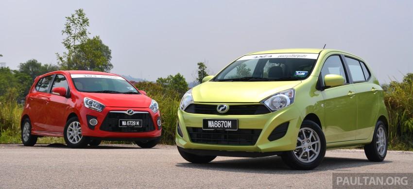 GALLERY: Perodua Axia Standard G vs Axia Advance Image #274367