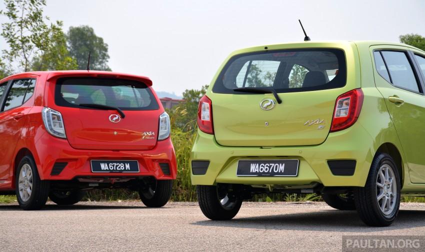 GALLERY: Perodua Axia Standard G vs Axia Advance Image #274370