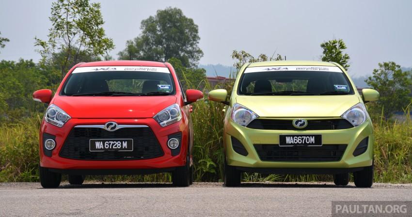 GALLERY: Perodua Axia Standard G vs Axia Advance Image #274371