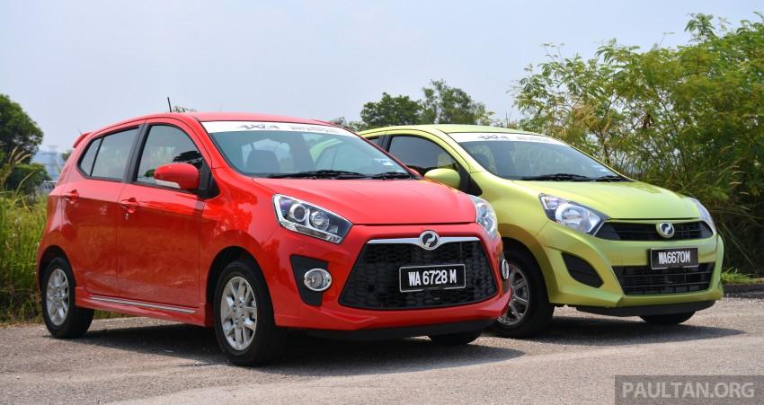 GALLERY: Perodua Axia Standard G vs Axia Advance Image #274372