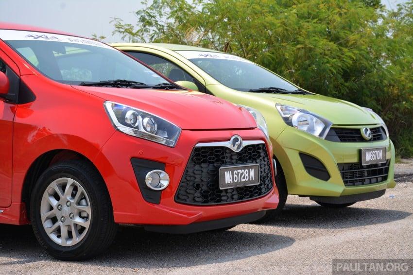 GALLERY: Perodua Axia Standard G vs Axia Advance Image #274373