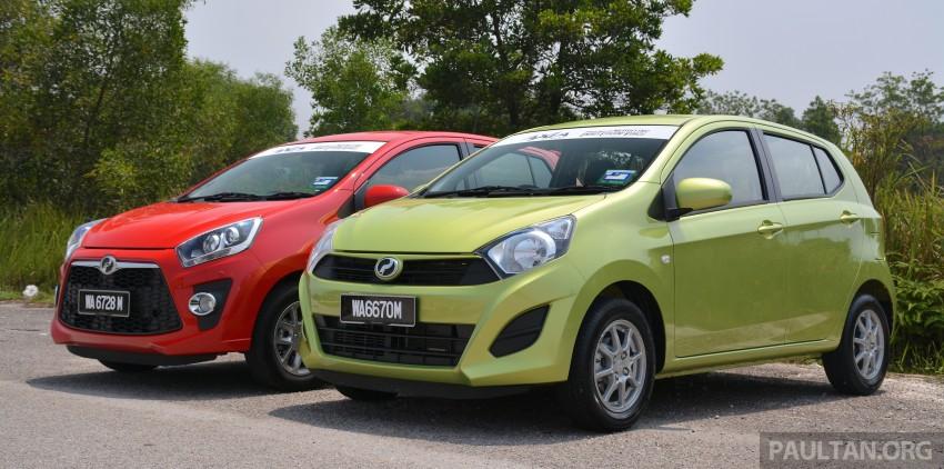 GALLERY: Perodua Axia Standard G vs Axia Advance Image #274374