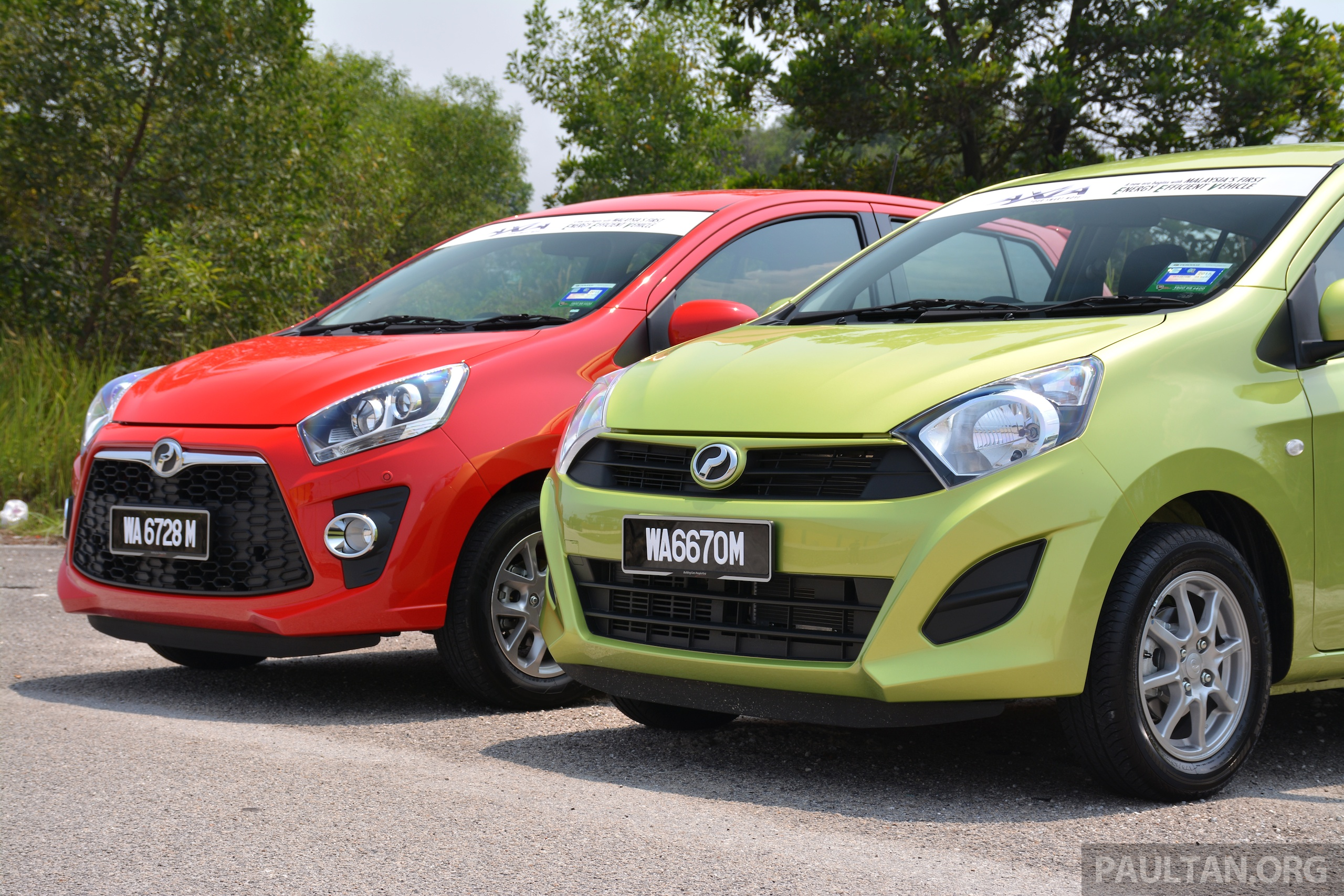 Gallery Perodua Axia Standard G Vs Axia Advance