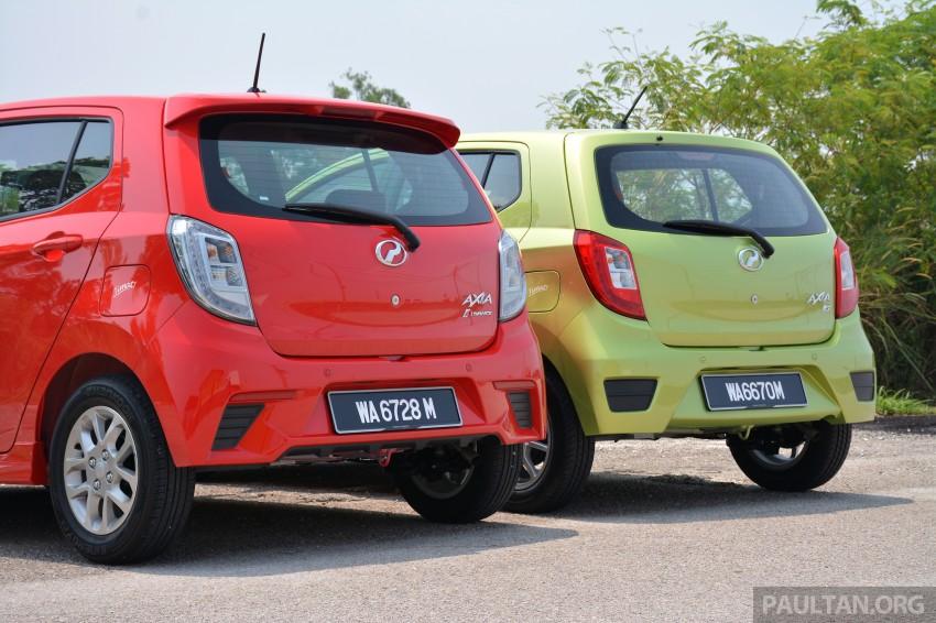 GALLERY: Perodua Axia Standard G vs Axia Advance Image #274378