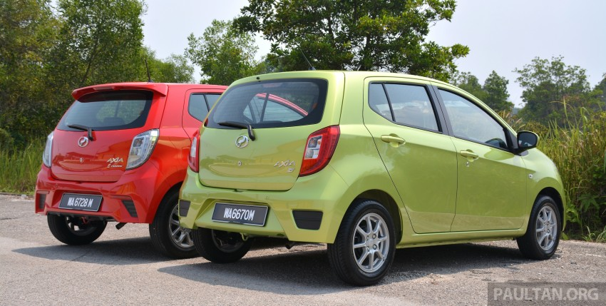 GALLERY: Perodua Axia Standard G vs Axia Advance Image #274379