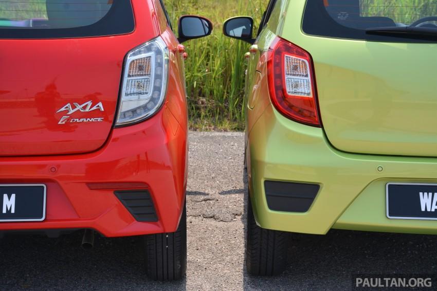 GALLERY: Perodua Axia Standard G vs Axia Advance Image #274381