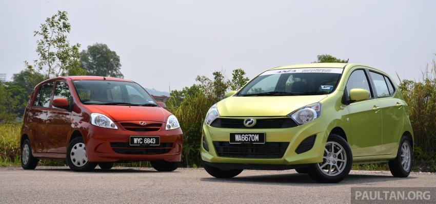 GALLERY: Perodua Axia vs Viva – a big leap forward? Image #274503