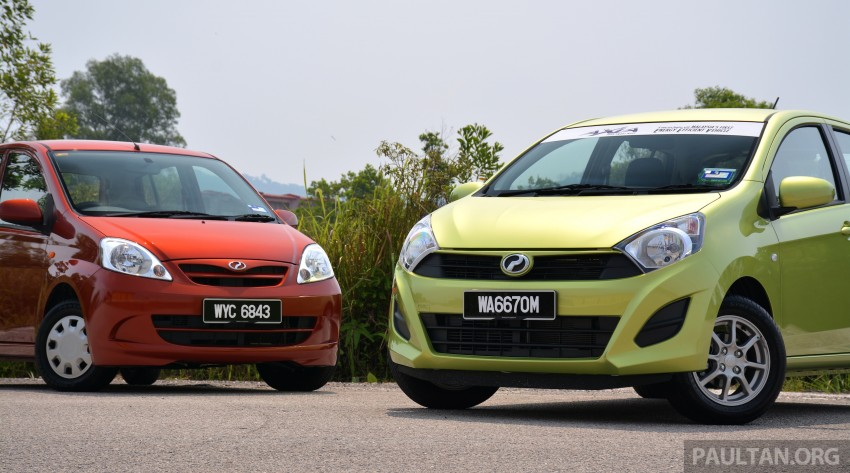 GALLERY: Perodua Axia vs Viva – a big leap forward? Image #274504