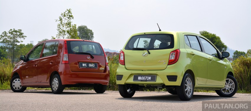 GALLERY: Perodua Axia vs Viva – a big leap forward? Image #274505