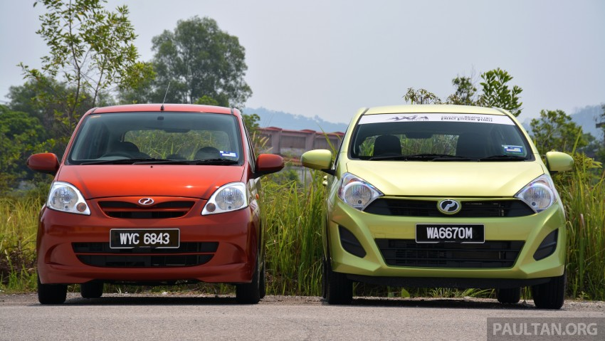 GALLERY: Perodua Axia vs Viva – a big leap forward? Image #274507