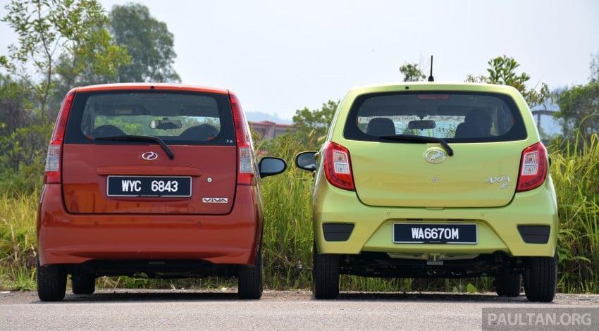 GALLERY: Perodua Axia vs Viva – a big leap forward? Image #274508