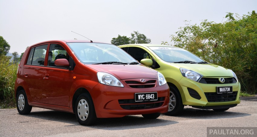 GALLERY: Perodua Axia vs Viva – a big leap forward? Image #274510