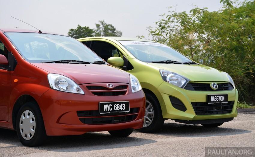 GALLERY: Perodua Axia vs Viva – a big leap forward? Image #274511