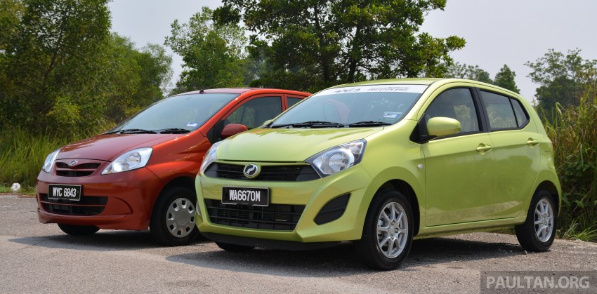 GALLERY: Perodua Axia vs Viva – a big leap forward? Image #274512