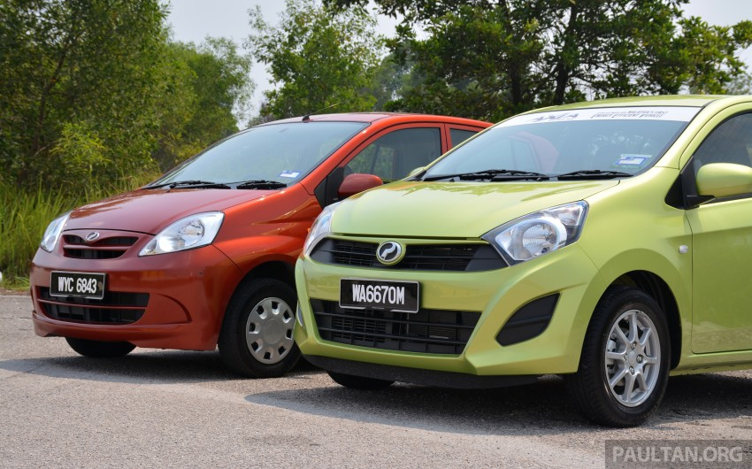 GALLERY: Perodua Axia vs Viva – a big leap forward? Image #274513