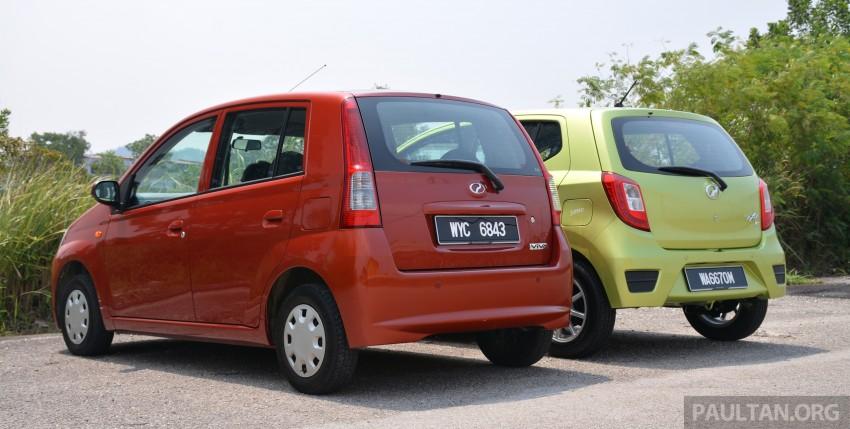 GALLERY: Perodua Axia vs Viva – a big leap forward? Image #274514