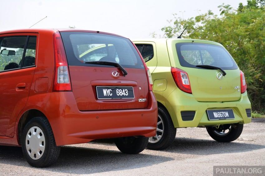 GALLERY: Perodua Axia vs Viva – a big leap forward? Image #274515