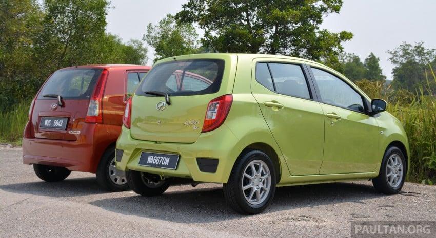 GALLERY: Perodua Axia vs Viva – a big leap forward? Image #274516