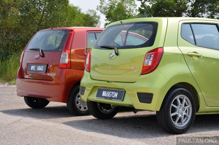 GALLERY: Perodua Axia vs Viva – a big leap forward? Image #274517