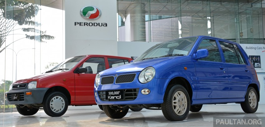 GALLERY: Perodua Kancil to Perodua Axia, Malaysia's most affordable car through the ages Image #275007