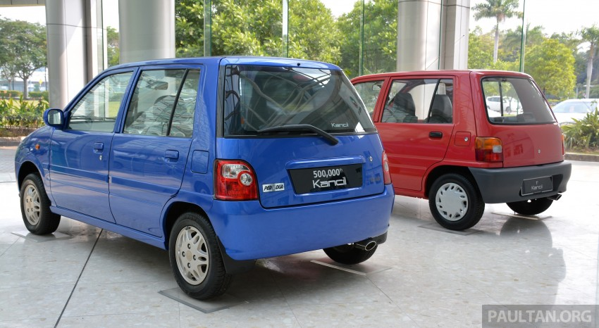 GALLERY: Perodua Kancil to Perodua Axia, Malaysia's most affordable car through the ages Image #275009