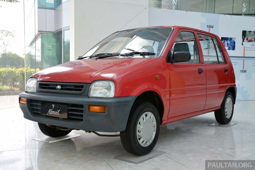 GALLERY: Perodua Kancil to Perodua Axia, Malaysia's most affordable car through the ages Image #275010