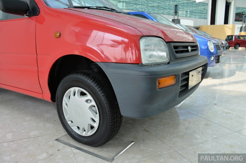 GALLERY: Perodua Kancil to Perodua Axia, Malaysia's most affordable car through the ages Image #275014