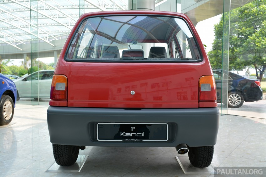 GALLERY: Perodua Kancil to Perodua Axia, Malaysia's most affordable car through the ages Image #275015