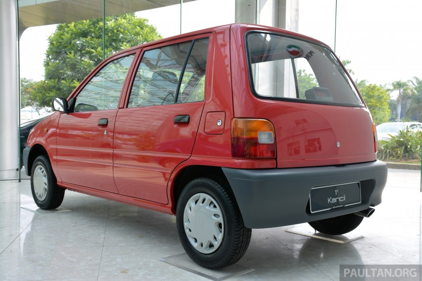 GALLERY: Perodua Kancil to Perodua Axia, Malaysia's most affordable car through the ages Image #275016