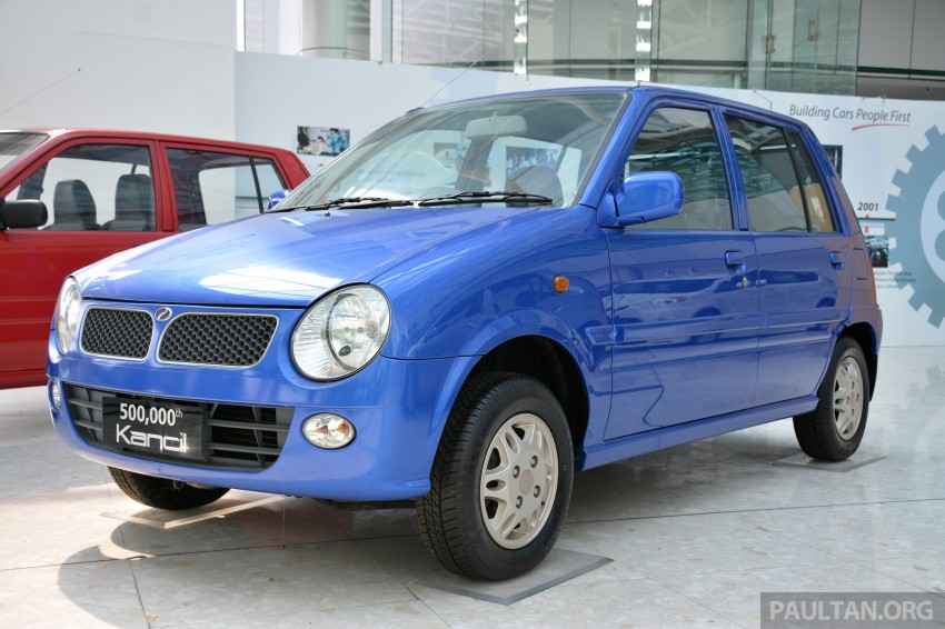 GALLERY: Perodua Kancil to Perodua Axia, Malaysia's most affordable car through the ages Image #275020