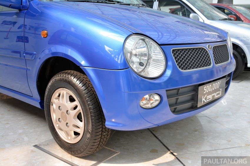 GALLERY: Perodua Kancil to Perodua Axia, Malaysia's most affordable car through the ages Image #275024