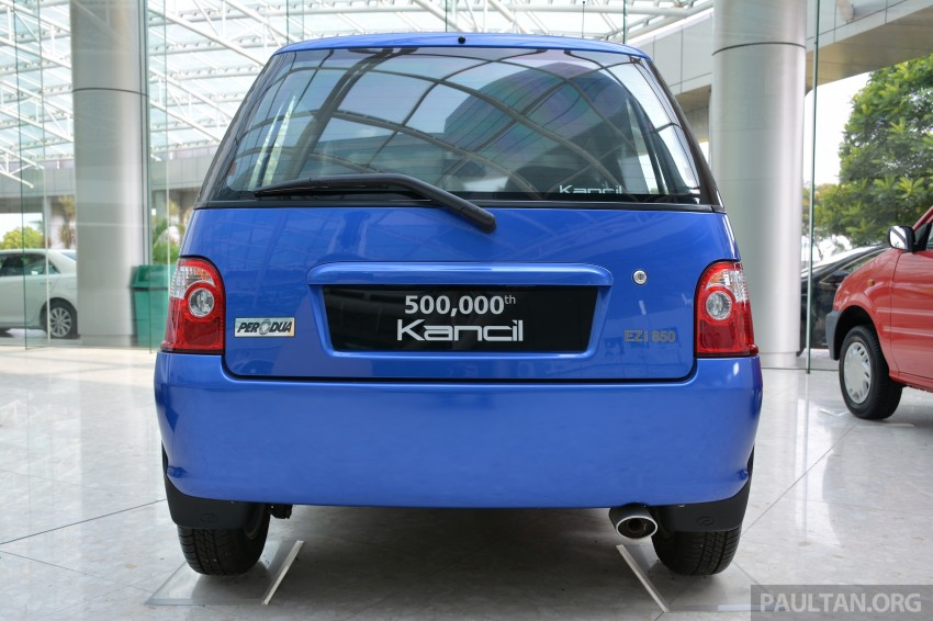 GALLERY: Perodua Kancil to Perodua Axia, Malaysia's most affordable car through the ages Image #275025