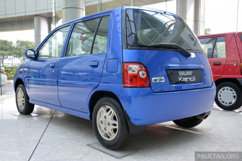 GALLERY: Perodua Kancil to Perodua Axia, Malaysia's most affordable car through the ages Image #275026