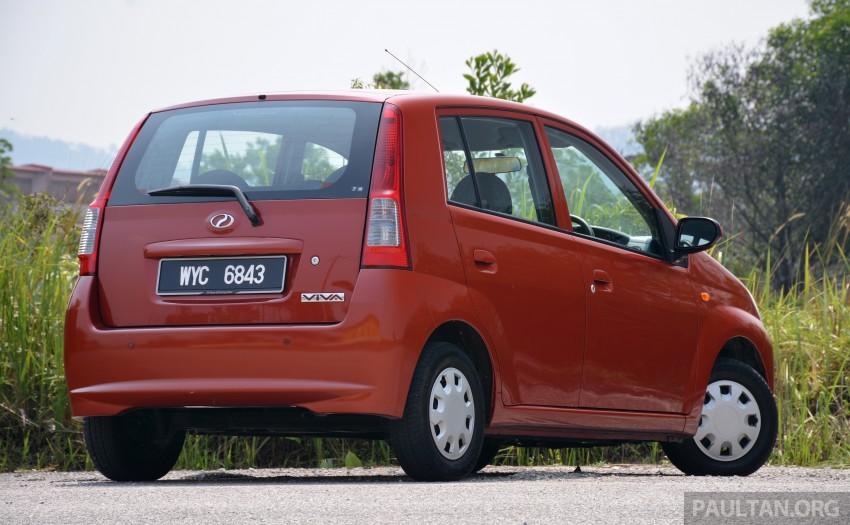 GALLERY: Perodua Axia vs Viva – a big leap forward? Image #274565