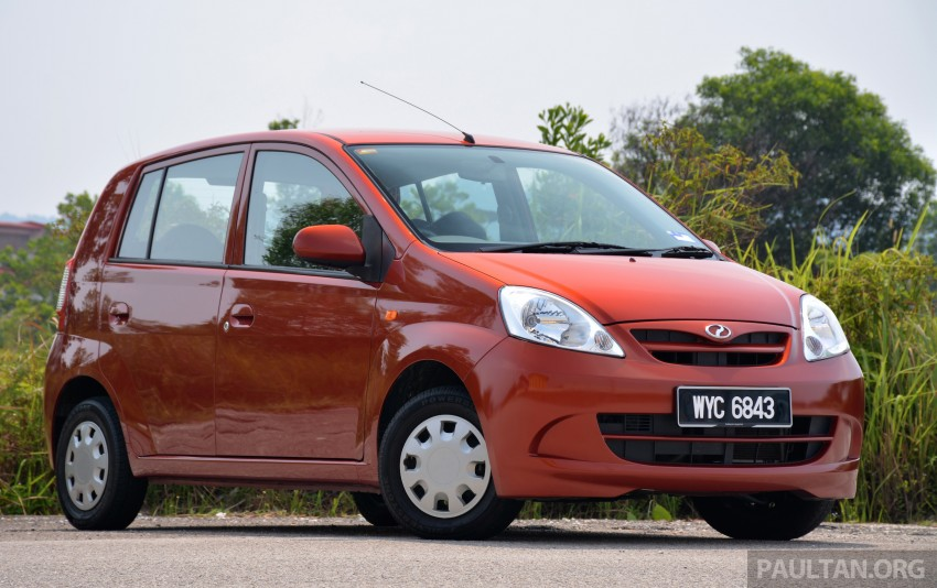 GALLERY: Perodua Kancil to Perodua Axia, Malaysia's most affordable car through the ages Image #276120